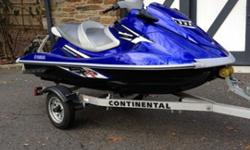 2011 YAMAHA WAVERUNNER VXROne owner personal watercraftThis Waverunner is the second fastest model Yamaha produced being behind the supercharged version. Having a 1.8L 180 hp engine, its extremely fast and fun. The engine is a Yamaha 1812cc, four