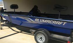 ,,,,..2012 Alumacraft aluminium fishing boat. It has a Mercury 60 hp four stroke engine. Min kota trolling motor power drive 45 # thrust foot control. Has mi kota dual bank charger. Has A Hummingbird fish finder at the console. I am also including 3 life