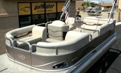 2012 Avalon - The LS Cruise - www.gotwaterrentals.com/Sales_-_Avalon_-_LS_Cruise.html The Avalon LS - This is a beautiful boat that is made with the same care and quality materials used on all Avalon Pontoon boats. We include many of Avalon's nicest