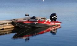 Like new 2012 Bass Tracker Pro Team 175 TXW bass boat with upgraded 2012 75HP Mercury Optimax direct injection outboard. I special ordered this boat new in fall 2012 from Bass Pro Shop with the 75HP Mercury Optimax. It is the largest motor rated for this