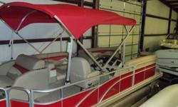 2012 BENNINGTON 24 SLX WITH A 60 HP MERCURY 4 STROKE, T/A TRAILER WITH BRAKES ,KICKER SPEAKERS,COVER, LIFTING STRAKES,DOCKING LIGHTS,SONY STEREO,PRIVACY UNIT,TEAK STEERING WHEEL AND PORTABLE CUP HOLDER