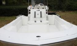 This sharp, super clean 2012 Carolina Skiff JVX 18 Center Console boat is just the ticket for the bays, the flats and the rivers...take your pick! With only 87 hours on this incredibly quiet, powerful Honda 60 HP Four Stroke engine this rig is in