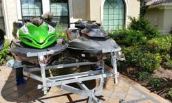 2012 Kawasaki Jet Ski Ultra 300X - Green use only 3 hoursThe most powerful jet ski yet tops the 300 horsepower mark.Power is great. Power plus handling, even better. Power plus handling plus all the features a hardcore enthusiast wants in a personal