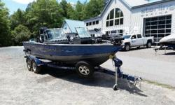 This is the ultimate fishing boat, fully equipped in excellent condition. It has a Mercury 300XL Pro 4/s engine with only 65 hrs. a Mercury 9.9 4/s Pro Kicker, a Lowrance HDS-10 on the helm, a Lowrance HDS ? 5 on the bow and Minn Kota Terrova trolling