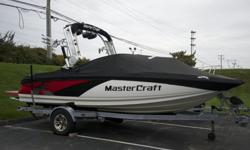 Meticulously Maintained 2012 Mastercraft with major upgrades. Touch screen command center not found on this model year just added! Makes use 10x easier! Upgrades include 5.7 Ilmor, Attitude Adjustment Plate, Surf Tabs, Tower Camera, Board Racks, 4