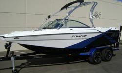 2012 MB F21 Tomcat -PCM Excalibur 343 -Zero Off GPS Speed Control -Depth Finder -1800lb Under Floor Ballast -Collapsible Tower w/ Bimini Top and Mirror Arm -Swivel Board Racks w/ Two Wake and One Surf Slot -CD Stereo w/ Wetsounds Speakers and Subwoofer