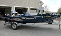 2012 Polar Kraft Bass boat, trailer, and accessories-For a faster respond please reply with your phone number! Garage Stored, amazing condition with lots of added extras-100% Freshwater only-Very low hours of use-Smoke-free homeFeatures:* 16 Ft. Aluminum