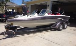 2012 Ranger Ranger 211RS REATA,2012 Ranger REATA 211RS Ski & Fish Bass Boat fully loaded there is only 19 hours on this boat. I bought it off the show room floor in 2013 and have always kept it garage and it is still in show room condition, it is equipped