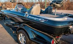 2012 Ranger Z118 dual console with Mercury ProXS 150hp that has 55 total hours on motor 6in manual jack plate, brand new water pump impeller just installed, SS prop. Included trailer with surge brakes and swing away tongue. HDS 8 on ram mount w/ LSS2,