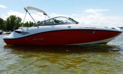 I'LL RESPOND ONLY THROUGH PHONE SO PLEASE LEAVE ME YOUR NUMBER. THANKS! THE CHALLENGER FEATURES A 1.5 LITRE SUPERCHARGED ROTAX 4-TEC HO 4-STROKE ENGINE, SEATING FOR 10, BIMINI TOP, FULL SNAP-IN CARPET, FULL SEA DOO STORAGE COVER, JENSEN SATELITE READY