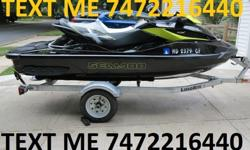 mbn**************************************************************Black and Yellow. Purchased in 2012. This is not a toy! It is one of the fastest production Jet Skis on the market and will do 70 mph. It has a 1500cc, 4 stroke, 3 cylinder supercharged