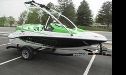 2012 Sea Doo 150 Speedster HO, in great shape with only 24 hours driven. Boat includes the supercharged Rotax 4-Tec 215 HP intercooled jet drive engine, premium sound system, single axle trailer and tower. Recent cobra jet fins added to make steering and