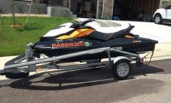 2012 Seadoo GTR 215 and 2011 Seadoo Icatch Trailer. The ski only has 25 hours on it, i have not been using it as much as i planned. Other priorities such as school, kids, work are making me think it is time to let it go. I bought it new and have all the