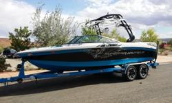 This 2012 Super Air Nautique 230 Team Edition is loaded with almost every option that was available in 2012 and then some. Gently used with only 95 hours on the PCM ZR6 409 power plant. WHAT THEY SAY: The Super Air Nautique 230 is the elite boat in its