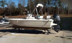 2012 Tidewater 1900 Bay w/ 150 Yamaha 4-stroke & trailer. Boat has bimini top and depth finder. Boat is very good condition and as it has been stored in drystack at Lighthouse Marina. Please call Craig or Jason at 803-749-XXXX.