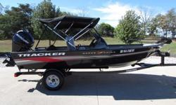 2012 TRACKER SUPER GUIDE V16 ALL ALUMINUM WELDED HULL POWERED BY THE MERCURY 40 HP EFI FOUR STROKE WITH ORIGINAL MATCHING TRAILER. THIS BOAT IS ABSOLUTELY LIKE NEW WITHOUT THE NEW STORE PRICE. INTERIOR: INSPECTED AS READY TO SELL. THESE TRACKER BOATS ARE