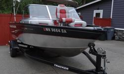 I'll respond ONLY through phone so please leave me your number.Thanks! This boat has a Yamaha 115 HP 4 stroke motor, bimini, swim platform. It's a perfect sized lake fishing boat! This is my dads boat that he bought a couple years ago and used it only