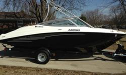 The boat is very spacious, versatile, and planes very quickly making tubing & wakeboarding a lot of fun. It is pretty light making trailering simple, also it is very fuel efficient using only 1/2 tank of gas out all day (tank is also small). Overall this