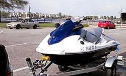 2012 Yamaha VX 1100 Sport Wave Runner. Jet ski is currently winterized and has less than 31 hours on it. I bought it in May 2013 New. I have all the maintenance records for it. Jet ski comes with trailer, cover and Yamaha bumpers. Jet ski has a few scuffs