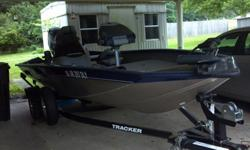2012 Bass Tracker Boat for sale. Fully loaded and will sale with life vest and extra accessories. This boat has only had two tanks of gas put through it. My husband became ill shortly after we purchased it and now we can not use it. I am only asking the