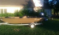 2013 G3 1860SC Gator Tough Jon Boat with trailer - 70 hp Yamaha motor, Lowrance Elite 7-HDI Fish Finder. Minn Kota Power Drive V2 70hp trolling motor with Minn Kota Co-pilot. 2 pedestal seats. We bought brand new 2014. Low hours on the motor. Boat