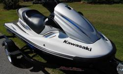 FOR SALE IS A PRISTINE 2013 KAWASAKI STX-15F JET SKIONLY 5 HOURS AND IT IS IN PERFECT CONDITIONNOT A MARK ANYWHERE ON THIS SKI FULLY TRANSFERABLE FACTORY WARRANTY GOOD INTO 2015THIS SKI IS JUST LIKE NEW AND YOU WILL NOT FIND MANY SKIS IN THIS GOOD OF