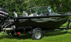 This very clean boat has it all, equipped with numerous accessories and upgrades making it the ultimate fishing or recreational boat.With only (20) hours it?s practically brand new and in great condition. 2013 Mercury (Opti-Max) 115 Horse Power Motor.2013