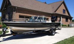 2013 Lund Alaskan 2000 DC!!! This is an awesome and beautiful boat!! It has been and still is garage kept and was completely cleaned and wiped down after each outing. It has less than 100 hours of use on it!! Boat comes with complete sun-top, side and aft