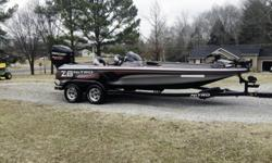 The second you pick up this 2013 NITRO Z-8 SC performance bass boat is the second you've earned the right to brag to your buddies about how awesome your boat is. And brag you will!Because neither you nor any of your fishing buddies (or even your