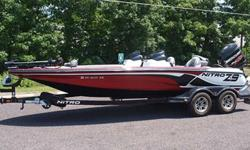 Stock Number: 713468. Mercury Optimax 250 XS with only 21 hours. I am only selling because I don't use it enough and it is a shame for a boat like this not to be on the water fishing. The boat and trailer are covered by a 5 year Tracker Marine Premier