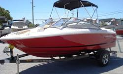 This 2013 Regal 1900 bow rider is in amazing condition front to back, side to side, inside and out. It is loaded with snap in carpet, snap on covers, bimini top, Fusion stereo, walk through transom with filler cushions, fast track hull, huge extended swim