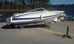 2013 Regal 2100 w/5.0 MPI Mercruiser. Options include: Classic Pacific Blue hull, Mocha interior, cockpit carpet, Flexiteek swim platform, docking lights, bow & cockpit covers. Boat has 31 hours and looks brand new. It has been dry docked at Lighthouse