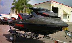 2013 Sea-Doo GTI LIMITED 155 (Model# 39DA) and Continental AWC11E 14.5' trailer.This machine runs and drives like a dream, always feels in control and is a blast to ride. It has all the technology goodies that Sea-Doo offered in 2013, including