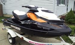 This auction is for the 2013 Sea Doo GTR 215 as pictured and described below. Only one season of use. Jet-ski purchase includes everything you and your family need to jet-ski. Ski has remainder of 2 yr. warranty it covers 2015/2016 seasons!Jet-ski- 2013