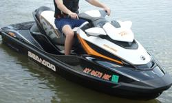 This SeaDoo is a 2013 model with only 66 hours! The craft has been taken very well care of and you can notice in the pictures.The RXT is one of Seadoos best models. It is a three seater but still has all the power of a two seater. It has a whopping 260hp,