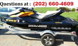 For sale is a mint condition 2013 Seadoo GTR 215 with 39 hours on it, also included is a 2014 Yacht Club galvanized trailer(shown in last 2 photos, not the Triton Trailer you see in some photos) This machine was immaculately maintained, it was washed,
