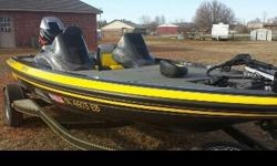 2013 Skeeter ZX190 with Yamaha 175 VMax motor used 12 times. 70 pound thrust minn kota edge trolling motor. Has 2 hummingbird fish finders ; one is 597ci hd with down imaging and one 788ci HD sonar GPS. Both have GPS and are linked together. Dual live