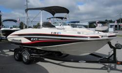 Up for sale is a super clean and LOADED Tahoe 195 Fish and ski deck boat. This boat is in like new condition inside and out!! All it needs right now is a bath. It hasn't even been washed in the pics below. It comes with everything you see in the pics