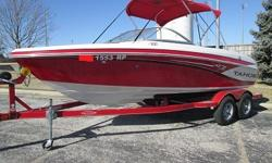 ski boat that has the 5.0 v8 mpi Mercruiser engine which puts out 260 hp. it comes with a matching 2013 trailer that has surge brakes and like new tires. the interior of this boat is in excellent condition with no flaws that I can find.When you contact me