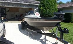 Excellet condtion low hours Bass Boat!!!!Very stable bass boat, always used ethanol free fuel, very clean.Agile and extremely able. It's nimble with a lot of fishing features. The Super Guide V-16 SC is one of the industry's best boating values. In