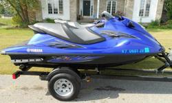 FOR SALE IS A 2013 YAMAHA VXR WAVERUNNERONLY 35 HOURS100% FRESH WATER ONLYALWAYS GARAGE KEPT AND ADULT DRIVENTHE SKI IS IN EXCELLENT CONDITIONJUST LOOK AT HOW NICE IT IS IN ALL THE PICTURESEXTENDED WARRANTIES TO THE SUMMER OF 2015THIS IS A LARGE AND