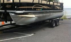 2014 Bentley Pontoon Four stroke 115 Mercury engine. Tandem trailer. Only 20 hours on boat and engine. Garage kept. Depth finder, docking lights, all KY state sales tax have been paid. You will save $2000.00 in taxes alone . This price includes 2014