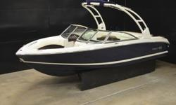 Gorgeous, nearly mint 2014 Cobalt 220 Bowrider for sale. This boat is loaded with cool options and is in pretty much like new condition inside and out. It is powered by a Volvo 5.0 GXI V8 with the famous Duo Prop outdrive and very low hours!! The boat is