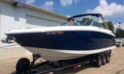 I am listing for sale my Cobalt 302. I have priced this boat for sale to move fast. You will not find a cleaner nicer boat on the market. The boat has been on a covered lift with its mooring cover on it. It has never sat in the water unless I am on it. I