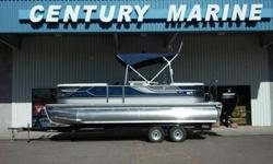 2014 Crest Pontoon 230 Classic Your ultimate Party/ Fish/Ski/Cruise pontoon Mercury 150HP 4S Hummingbird GPS Fish Finder Bar area with sink and barstools Icebox Under deck LED Lighting Premium Audio Sound System w/ Sub, Amp, Remote, bluetooth Privacy