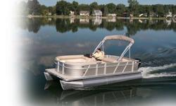 2014 Crest Pontoon -- The Wave 210 As low as $245 a month o.a.c. Mercury 90HP All Seating for the best cruises. Bimini Top Stereo w. Bluetooth Snap on Covers Carpet throughout Furniture - Interior Features: Expanded Back Vinyl Aluminum Seat Frames Storage