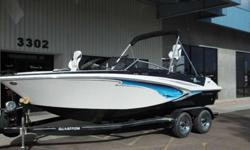 When you want it all - a ski and fish boat with upscale styling, remarkable value and comfort features - you want the 20-foot GTSF 205. It?s loaded with extras like a large padded sun lounge, extended swim platform and swivel chairs that convert to