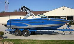 This MasterCraft X-10 is in perfect condition inside and out and runs great. There is 4 years bow to stern full warranty left on it that will transfer. The boat is loaded with just about all the options you could get. 57 HOURS, 5.7 ILMOR, MC SHIELD FLOOR