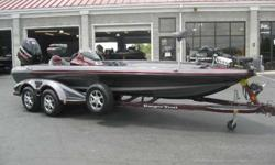 loaded with Lowarance HDS 10 in the console, Lowrance HDS 8 in the bow, 101 Minn Kota Fortrex, 4 bank charger, Touring package, parking brake, upgraded wheels, Ranger Trail cover, and all of the standard features you expect from the top of the line