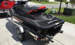 Sea Doo GTI 155 Limited comes ready to go! It is practically brand new and has been kept in pristine condition by the current owner. The Rotax engine is built for speed and pushes this thing right along with the 1,494cc's it packs. It's also big enough to